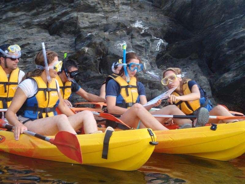 Fodo de Kayak & Snorkel a Llançà