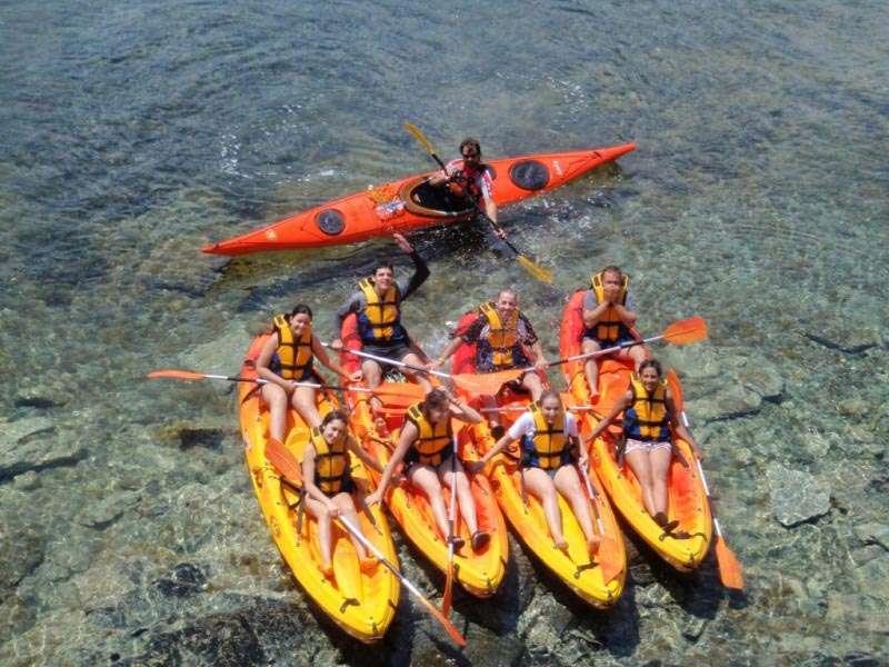 Photo de Excursion familiale en kayak