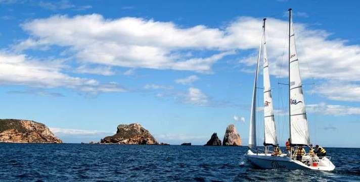 Fodo de Bateig de vela al PN del Mongrí i les Illes Medes