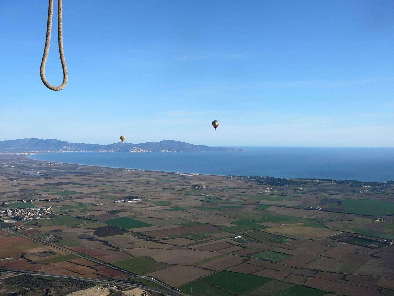 Fodo de Vol amb globus a l'Empordà