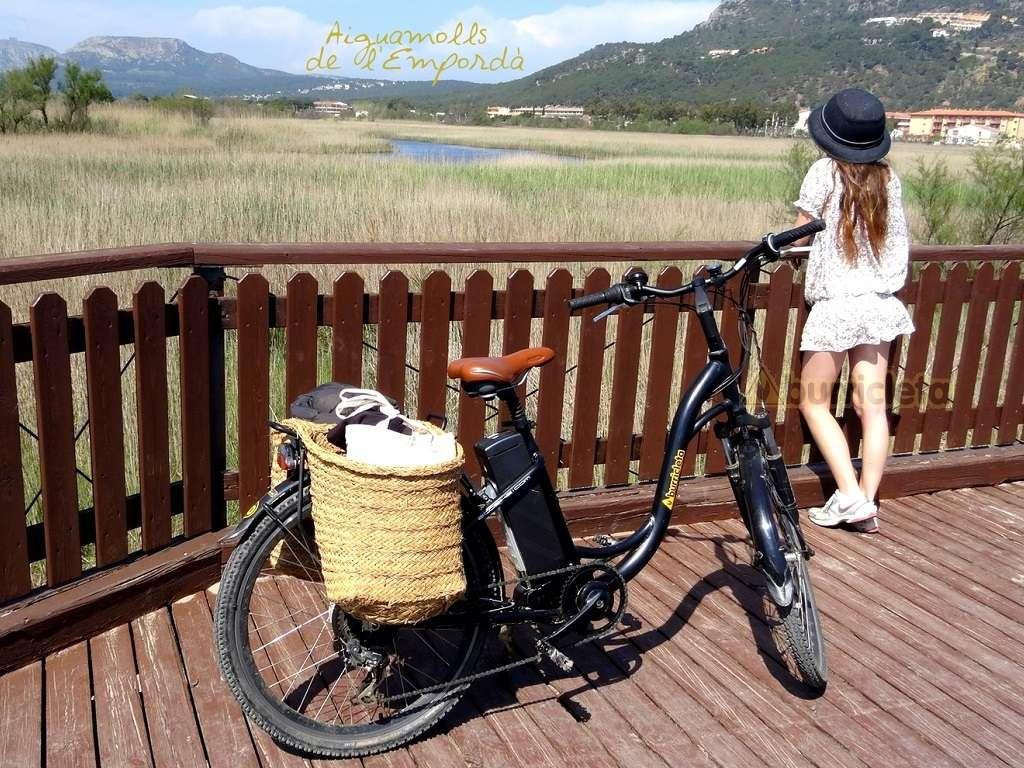 Fodo de Ruta Parc Natural del Montgrí en bicicleta elèctrica