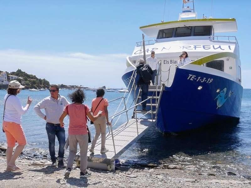 Fodo de Tour amb vaixell a Cadaqués