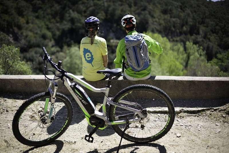 Fodo de Ruta amb bicicleta elèctrica de muntanya: la Font Freda