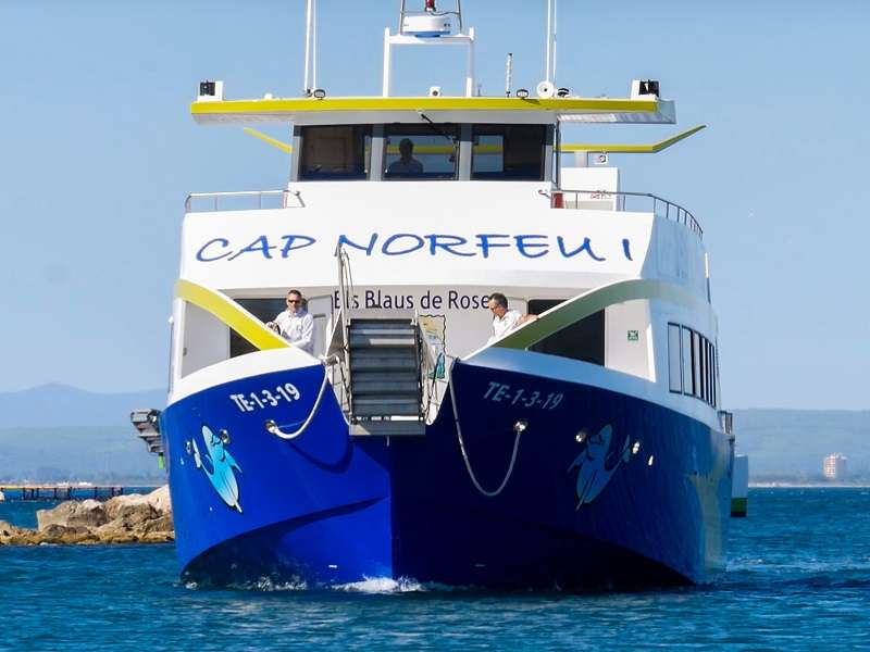 Fodo de Tour amb vaixell Cap de Creus - Port Lligat - Cadaqués