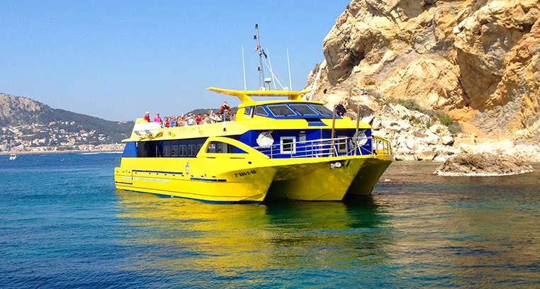 Crucero Nautilus: Islas Medas & Roca Foradada<br /><strong>Salida 15.00h <strong class='extra_info_articulo'>- desde 21.50 €  </strong></strong>